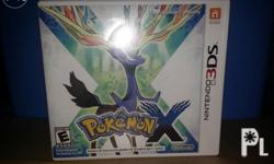 For Sale Only Pokemon X 3ds game Complete with case
