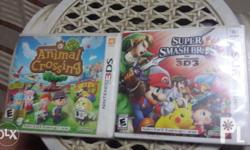 3DS games for sale: Animal Crossing: New leaf: *2nd