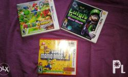 New Super Mario Bros 2 is brand new and sealed while