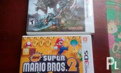 Hi. I'm selling / swapping my 2 3DS games. Please