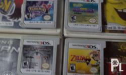 I'm Selling po my 3DS Games orig with manual complete