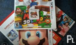 FS/FT: Super Mario 3D Land (US Version) with manual and