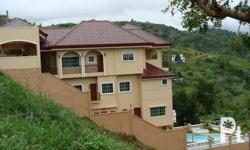 For Sale house and lot with Overlooking Mountain views