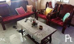 Sala set with center table very good condition price