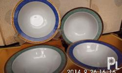 Authentic from Japan, 4 small bowls, table collection