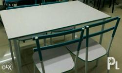 BRAND NEW 4 seater dining set. Php2500 Marked down