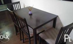 San Yang brand 4 Seaters Dinning Table good as brand