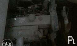 4d56 engine with transmission, papers Gawang latero ung