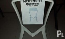 "PP plastic chairs 29"" from floor to seat *Kindly text"