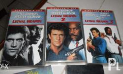 Original �Director�s Cut� VHS Tapes, three