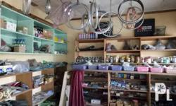 One lot for motorcycle and bicycle parts and