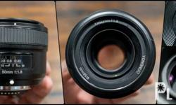 50mm 1.8 lens for Nikon pls. call or text 09169034841