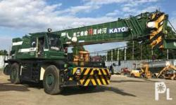 Used kato rough terrain crane 50tons surplus japan