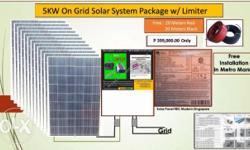 Vacation promo package, 5kw on grid solar system with