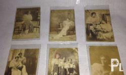 "Selling a SET of 6 ""Filipiniana"" photos. From 1918 to"