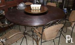 6 seater dining set, as is where is. Negotiable upon
