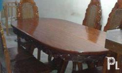 antique 6 seater narra dining table, images as is,we do