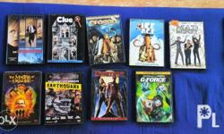 2nd Hand Original Movie DVD's from U.S. Please see pics