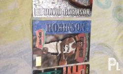 Rush sale 7 pcs of David Robinsona NBA card 1. fleer