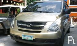 Vehicle Options 2008 Hyundai Starex Year: 2008 Mileage: