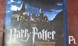 Original from italy Harry potter collection 8 disc blu