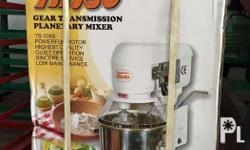 8 Qts TINSO Planetary Cake Mixer (Made in Taiwan) Also