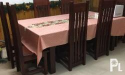 Mahogany 8 seater dining table In good condition Price