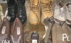 8 Used pair Womans Shoes Boots New Balance Sizes 7 to