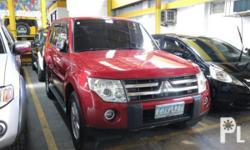 Vehicle Options 2007 Mitsubishi Pajero Year: 2007