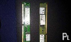 2 x 4gb ddr3 desktop ram 100% working condition Can be