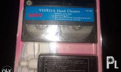 For sale video head cleaner for any brand of 8mm, hi-8