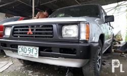 98 mitsubishi L200 Manual trans 2.5 diesel engine