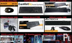 A4tech / Gaming / Led Keyboard and Mouse USB and PS2