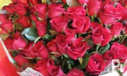 Surprise your loved one with a bouquet of 100 roses. We