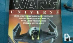 selling my book, A Guide to the Star Wars Universe by