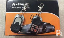 Universal and Oem car alarm, with warranty and