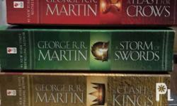 Complete published set of George R. R. Martin�s A