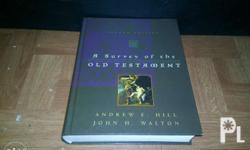 A Survey of the Old Testament by : Andrew Hill & John