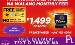 We are accredited abs cbn digital tv receiver provider.