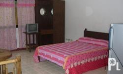 Airconditioned Room for rent in whitebeach puero Galera