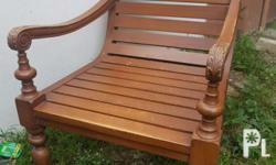 wooden accent/lounge chair