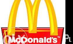 Come and join the McDonald's OG Road family and be