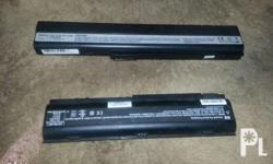 For asus and hp laptop battery From asus k52f laptop