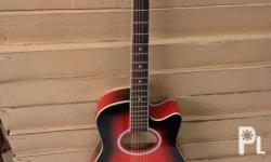 For sale brand new acoustic electric guitar brand new