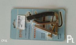Silver Trigger Style capo clamp for acoustic electric