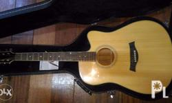 Thomson Acoustic Guitar with Pick-up. Free Chromacast