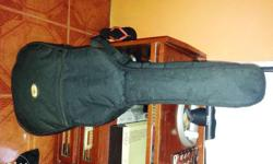 For Sale Crafter Acoustic Guitar -with Built In Tuner