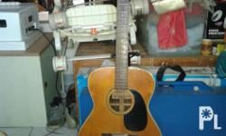 Famous acoustic guitar Model: F180 By Kiso, Suzuki