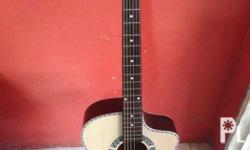 Brand new acoustic guitar -spruce top board -metal