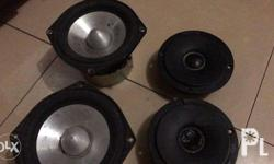 Acoustic Research set of 2 way speakers with crossover